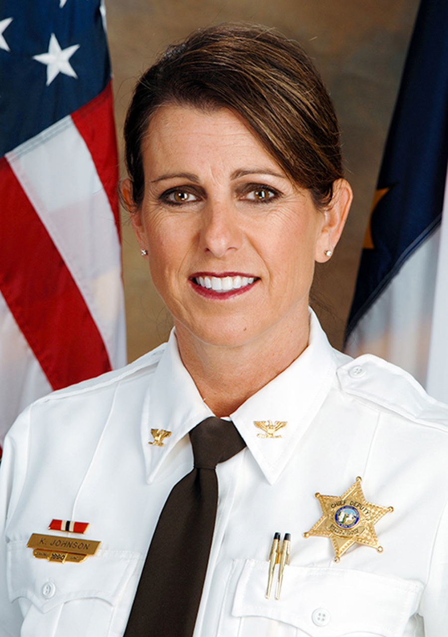 Chief Deputy Kim Johnson